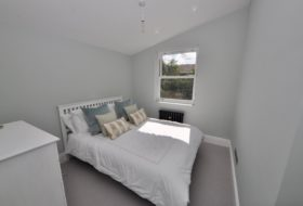 First new bedroom in Double Storey Extension