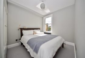 Second new bedroom in Double Storey Extension