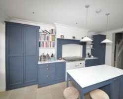 Double Storey Extension, Loft conversion and House Refurbishment in South West London, Fulham. Unicost Ltd has made all custom furniture and custom kitchen from solid oak wood.
